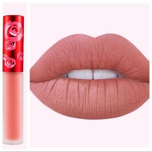 "Lime crime liquid matte lipstick in ""bleached"""